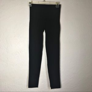 Spanx Look At Me Now Tummy Control Black Leggings